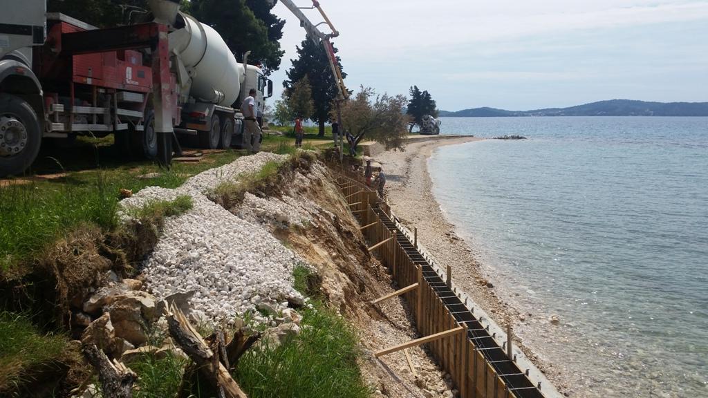 Plaža Puntarožica – novi izgled i zaštita terena