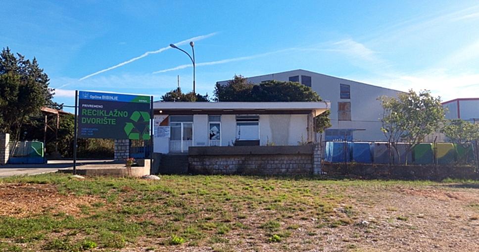 Otvoreno reciklažno dvorište za općinu Bibinje