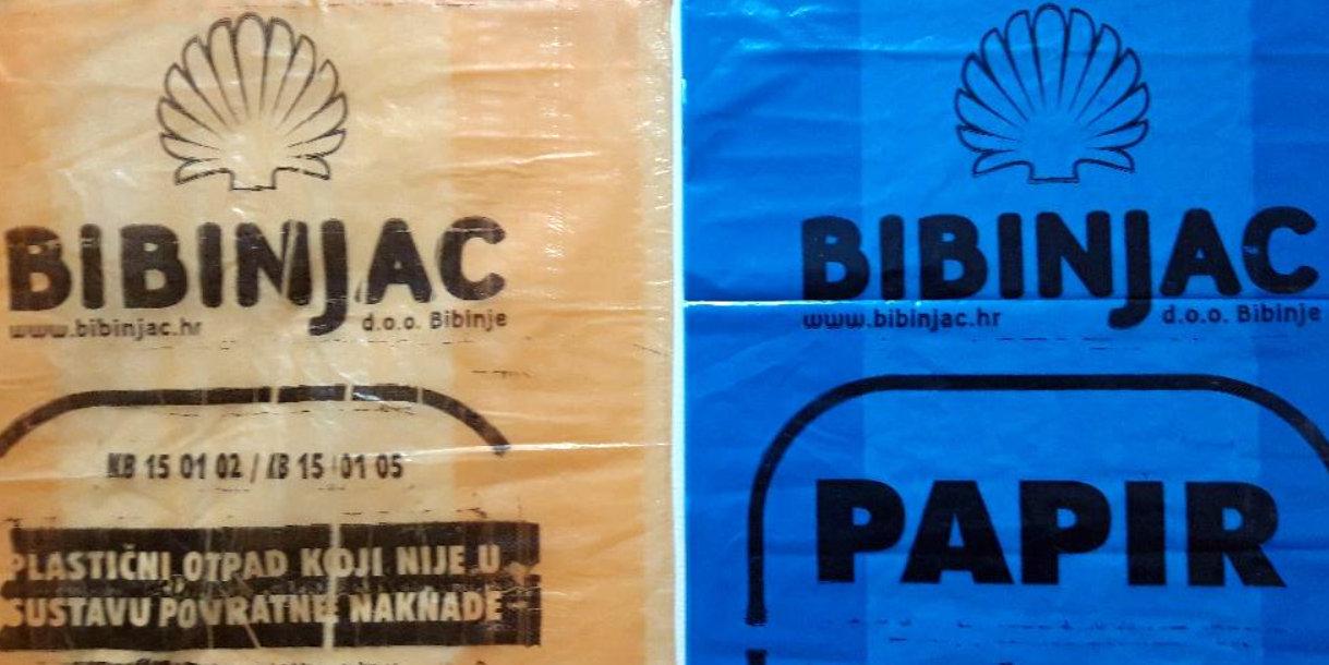 Papir i plastika za reciklažu – svake zadnje srijede u mjesecu